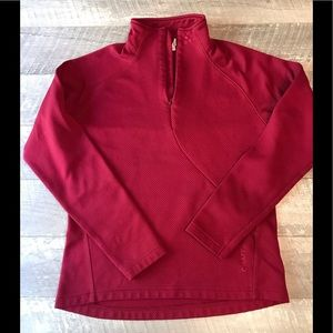 Craft Jackets & Coats - Craft Womens 1/4 Zip Pullover Red